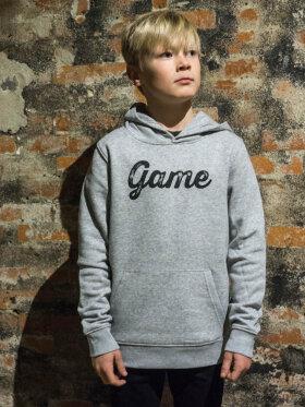 GAME - HOODIE (JUNIOR - GRÅ)