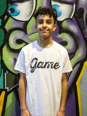 GAME - T-shirt (Junior - Hvid)