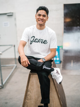 GAME - T-shirt (Hvid)