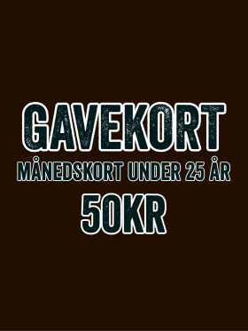 GAME - GAVEKORT - MÅNEDSKORT