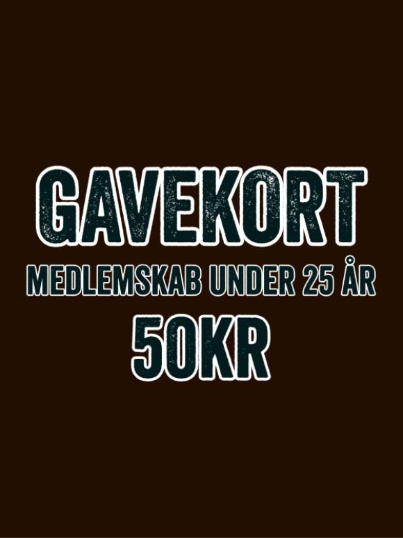 GAME - GAVEKORT - MEDLEMSKAB